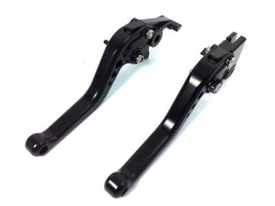 POWTEC PTB-092 Adjustable short Brake and Clutch Levers for HONDA CB1000R-COMPLETE BLACK