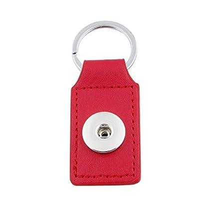 New Fashion Metal Leather Strap Keyring Key Chain Key Fob Key Holder Hot Sales