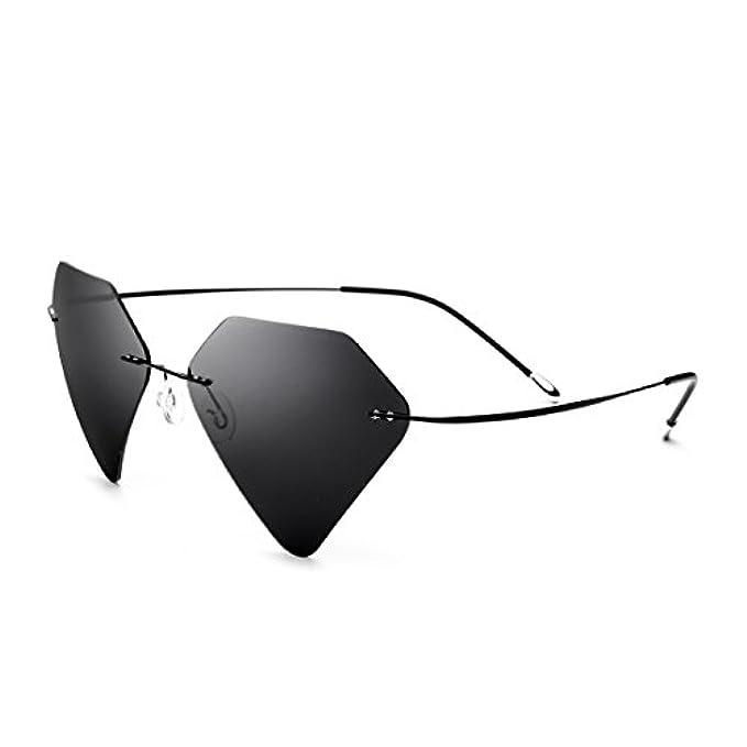 Montatura Donna Black color Occhiali Lens A Sole E Senza gray Uomo Taglio Diamante Con Da Frame Sakuldes Per