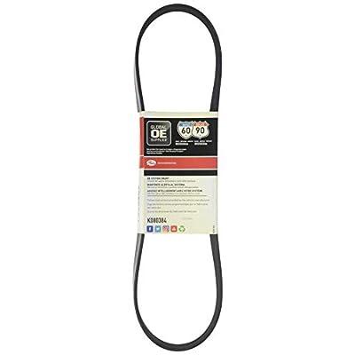 Gates K080384 Micro-V Belt: Automotive