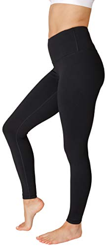 90 Degree By Reflex - High Waist Power Flex Legging – Tummy Control - Black XS