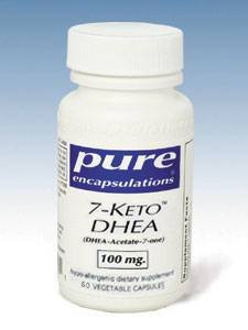 Pure Encapsulations - 7-Keto DHEA 100 mg 60 vcaps by Pure Encapsulations
