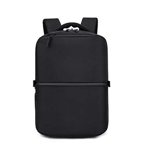 Anti-Diebstahl 15,6-Zoll-Laptop-Rucksack wasserdicht Oxford Herren Rucksack USB Herrenmode Reisetasche Jugendtasche