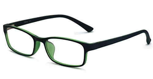 Outray Men Fashion Rectangle Stylish Eyewear Frame With Clear Lens 2180c4 Green