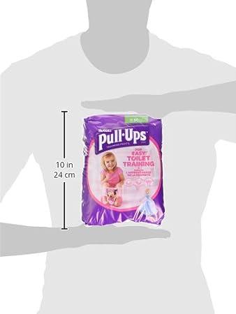 Huggies pull-ups/ /Pantalones de entrenamiento para el orinal para las ni/ñas tama/ño mediano