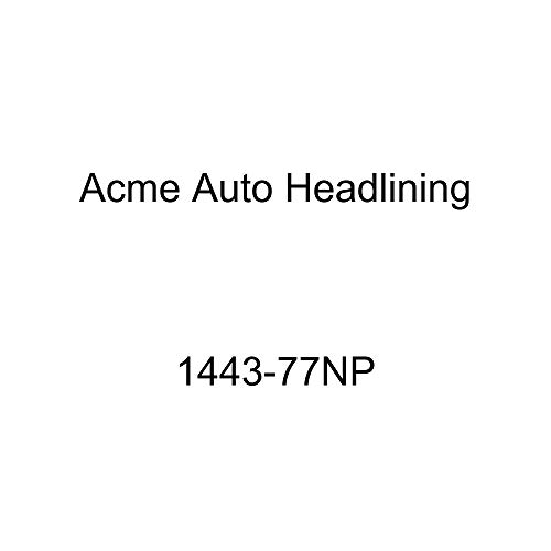 Acme Auto Headlining 1443-77NP Ginger Replacement Headliner (1954 Chevy Bel Air & Pontiac Catalina 2 Dr Hardtop 6 Bow, 3 Chrome)