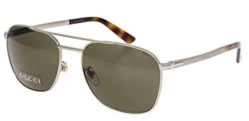 Gucci - GG 2270/F/S ASIAN FIT, Aviator, metal, men, MATTE LIGHT GOLD/BROWN(CGS/70), - Acetate Sunglasses Aviator Gucci
