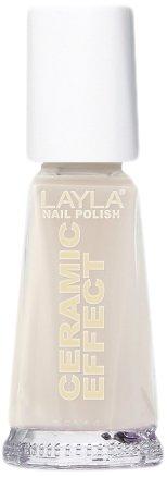Layla Cosmetics Milano Céramique Effet Vernis à Ongles Wilde Beige 10 ml 1243R23-046