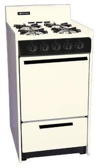 Summit SNM110CP 20 in. Gas Range with Battery Start Ignition - Bisque