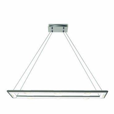 Ceiling Light Adagio (Jesco Lighting PD637-8R Adagio Series 637 8-Light Rectangular Pendant, Clear)