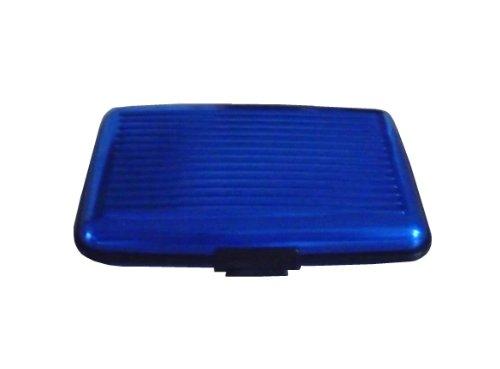 Alluminio Credito Blu Porta Di Oogly Carte In xt8wZ81qX6