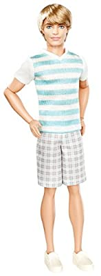 Barbie Ken Fashionistas Ken Striped Shirt Doll by Mattel