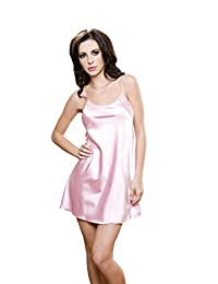 iCollection Women's Satin Chemise