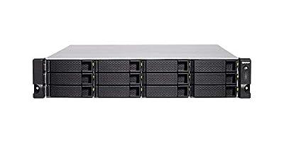 QNAP TS-1283XU-RP-E2124-8G 12-Bay 2U Rackmount NAS Intel Xeon E-2124 Quad-Core 3.3GHz from QNAP