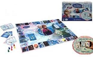 Juego mesa FROZEN interactivo hasta seis jugadores IL GIOCO reino de hielo 51019: Amazon.es: Juguetes y juegos