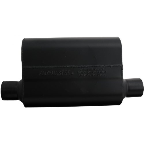HP-2 2.5 Inlet x 2.5 Outlet 304S Muffler with Aggressive Sound Flowmaster 12512304