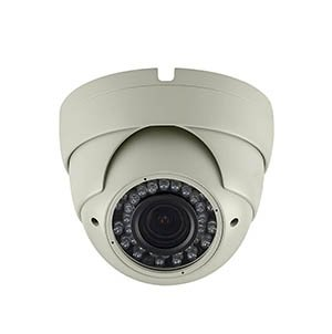 Installerparts HD-TVI 1080p Fixed Weather-proof Dome Camera 541I Ivory