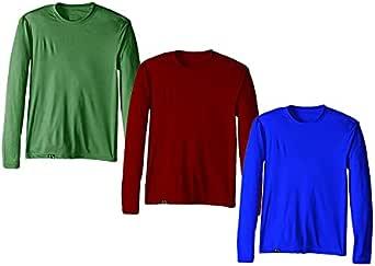 Kit com 3 Camisetas Proteção Solar Uv 50 Ice Tecido Gelado – Slim Fitness