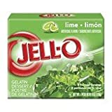Kraft Jello O Gelatin Lime Dessert, 6 Ounce -- 24 per case.