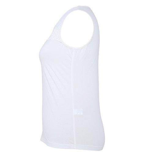 mccmococo - Camiseta sin mangas - para mujer blanco