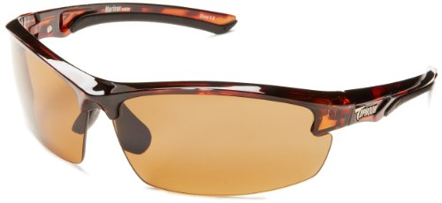 Typhoon Mariner Semi-Rimless Polarized Sunglasses,Tortoise,78 - Typhoon Polarized Sunglasses