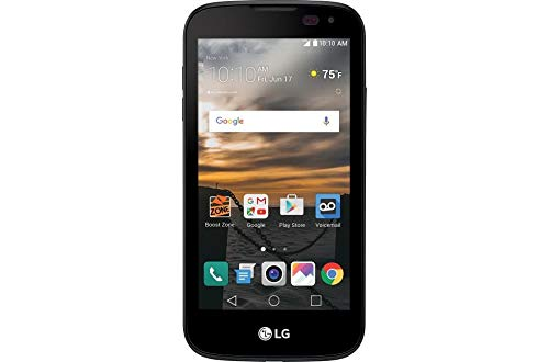 Boost Mobile - LG K3 with 8GB Memory Prepaid Cell Phone - Black