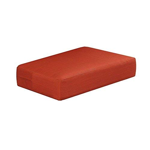 Martha Stewart Living Charlottetown Replacement Outdoor Ottoman Cushion (1, Quarry ()