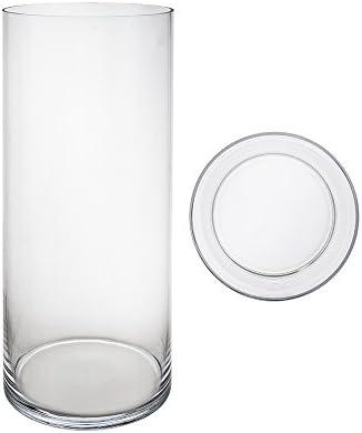 Mega Vases Cylinder Vase 7 Inch x 20 Inch