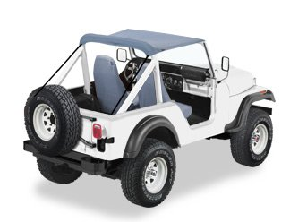 BESTOP 52507-01 Traditional Bikini; Color Matched; Requires Installation Of PN[51209]; - 1980 Cj Models Jeep