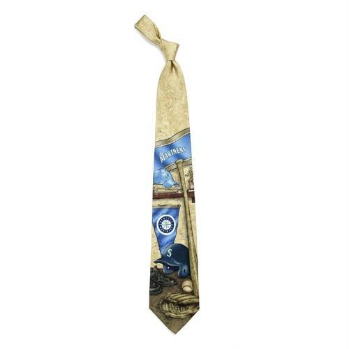 Seattle Mariners Nostalgia 2 Silk Necktie