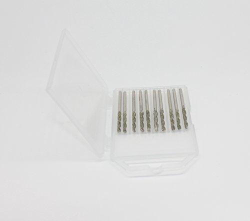 2.5mm Diamond Coated Twist Drill Bit Set 10pcs