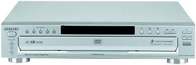 Sony DVP-NC665P/S 5-Disc Progressive Scan DVD Changer, Silver from Sony