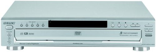 Sony DVP-NC665P/S 5-Disc Progressive Scan DVD Changer, Silve