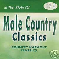 MALE HITS 2 Country Karaoke Classics CDG Music CD (Your My Girl My Woman My Friend)