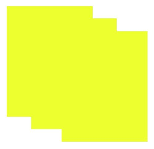 SISER EasyWeed Heat Transfer Vinyl HTV for T-Shirts 12 x 15 Inches 3 Precut Sheets (Fluorescent Yellow) - Shirt Transfer