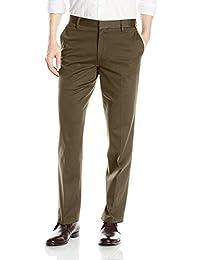 Dockers Ult Iron Free Straight Fit Pantalones para Hombre, Verde