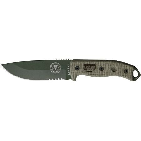 Esee-RC5SOD-Knives-Fixed-Knife-Micarta-Handle-Model-5-Survival-Escape-Evasion