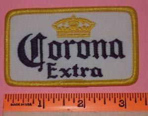 - Corona Extra Beer Alcoholic Beverage Breweriana Crown Logo Emblem Patch by HighQ Store