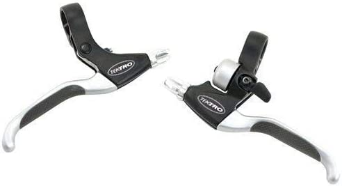 TEKTRO MT 2.1 ECLIPSE LINEAR PULL--CANTILEVER BLACK//SILVER BICYCLE BRAKE LEVERS