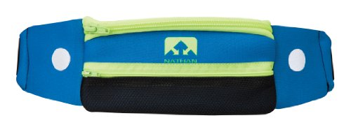 Nathan 5K Belt, Blue, One Size by Nathan