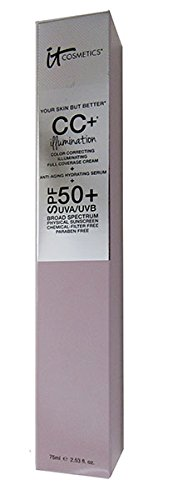 Price comparison product image It Cosmetics Your Skin But Better CC+ Illumination Full Coverage Cream - 75 ml / 2.53 Ounces - Medium
