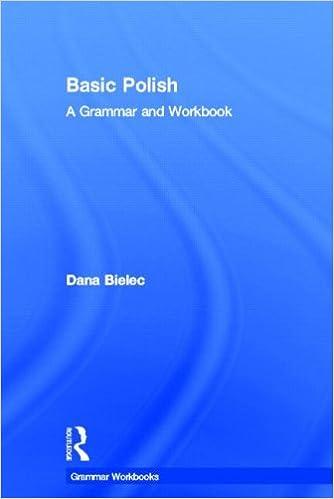 Amazon.com: Basic Polish: A Grammar and Workbook (Grammar ...
