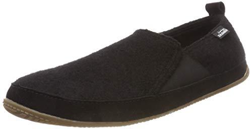 schwarz 900 Zapatillas Estar Por Casa Adulto Unisex Slip Negro Seitlichem on Gummi Living De Kitzbühel Mit nAqRpCFw