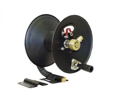 Apache 99023586 3700 PSI 50' Steel Pressure Washer Hose Reel Apache Inc