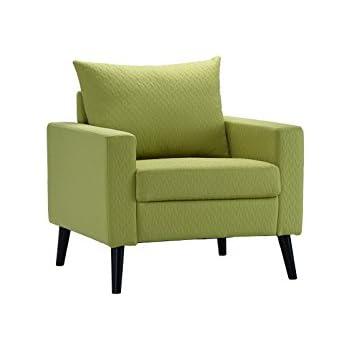 Amazon Com Divano Roma Furniture Mid Century Modern Linen