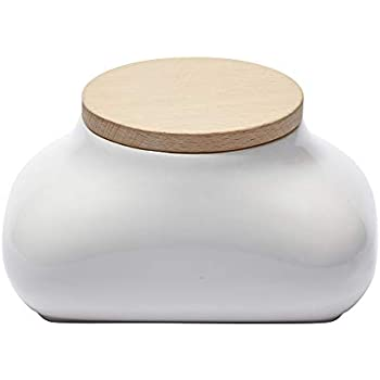 Ideaco Japan Designer Mochi Wet Wipes Tissue Dispenser with Concealed Tissue Box, Gloss White