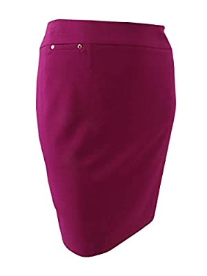 Tahari ASL Womens Above Knee Suit Separate Pencil Skirt