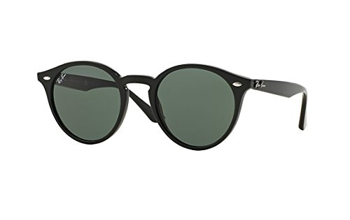 Ray-Ban Men's RB2180F Sunglasses Black / Green - Rb2180