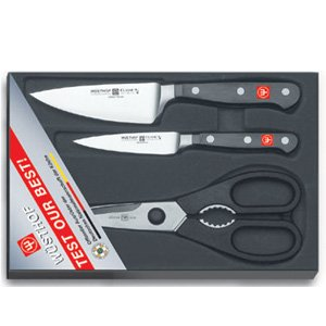 (Wusthof Classic 3-Piece Knife Prep Set)