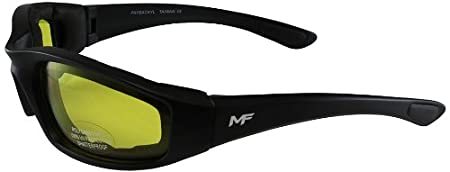 MF Payback Sunglasses (Black Frame/Yellow Lens) PAYBACKYL